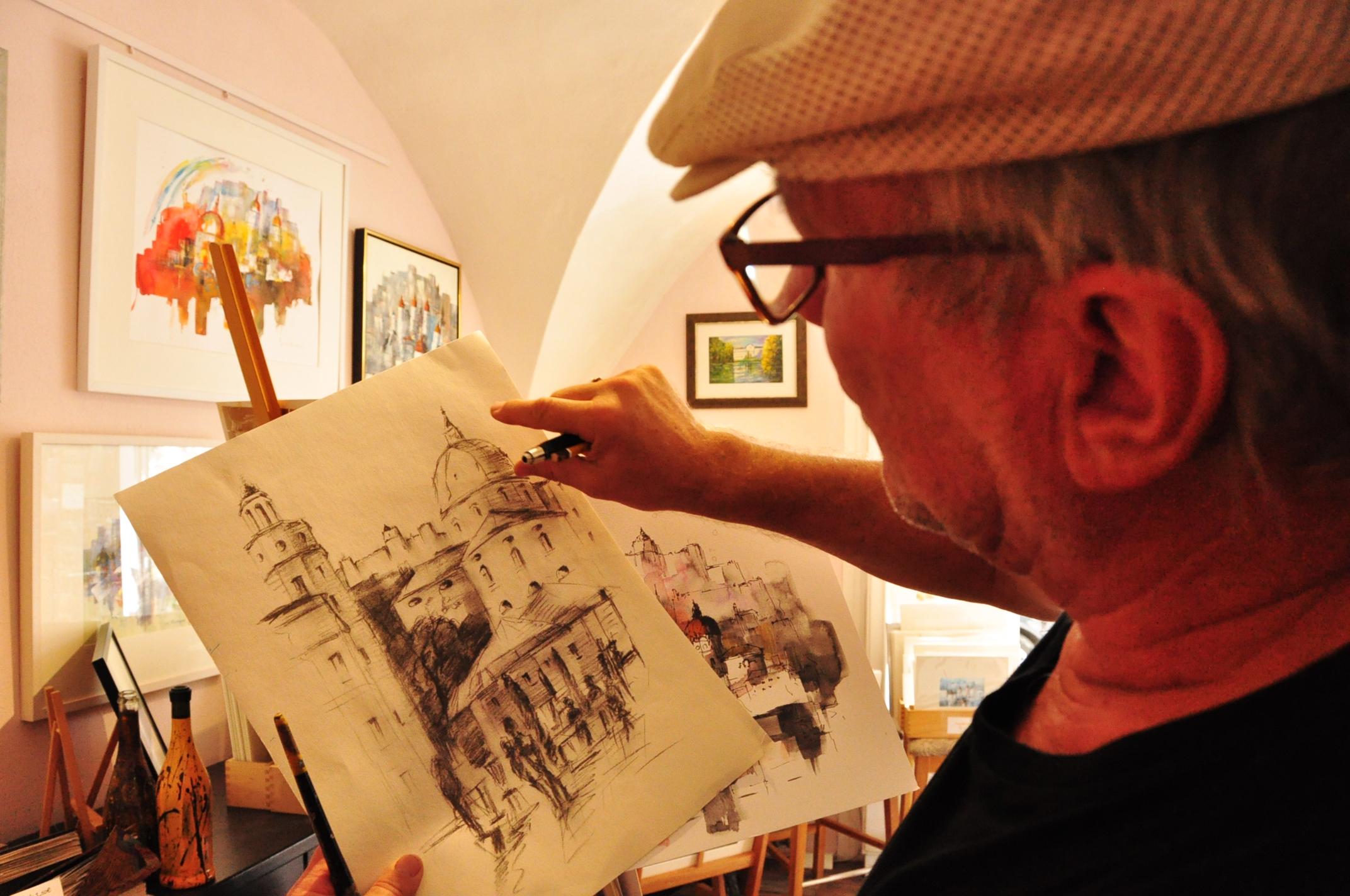 Leon Einberger Künstler