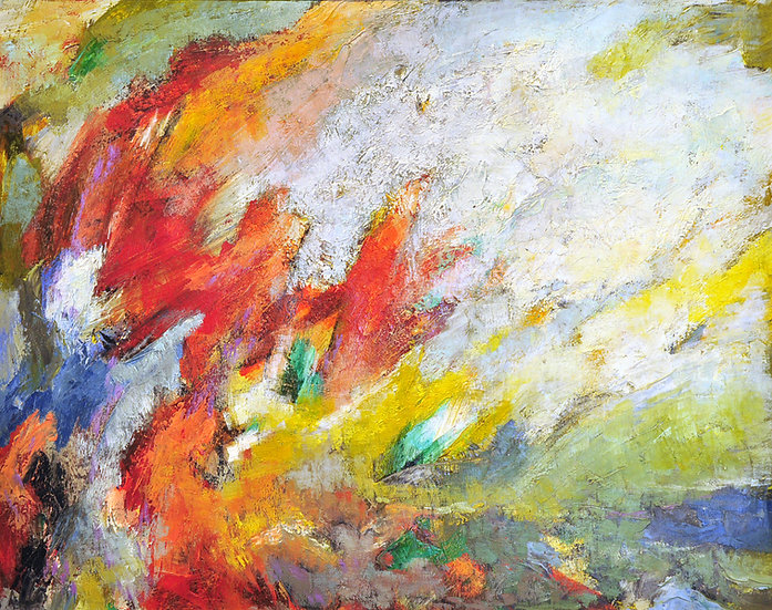 Branko - abstract landscape