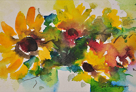 small Art135 sunflowers II