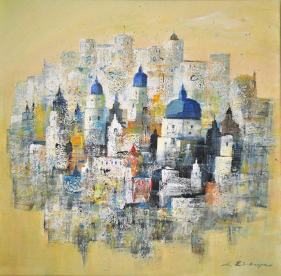 Salzburg on canvas