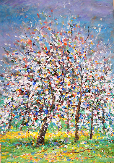 Branko -Tree in springtime II