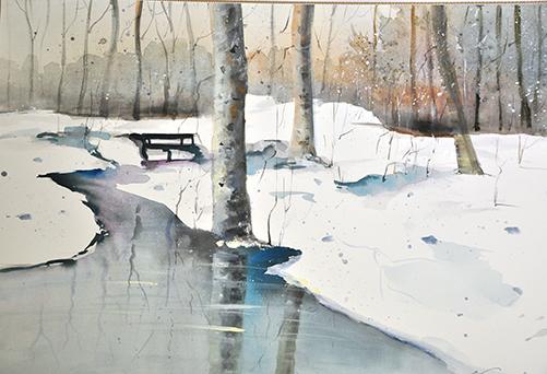 Art 238 Impression winter
