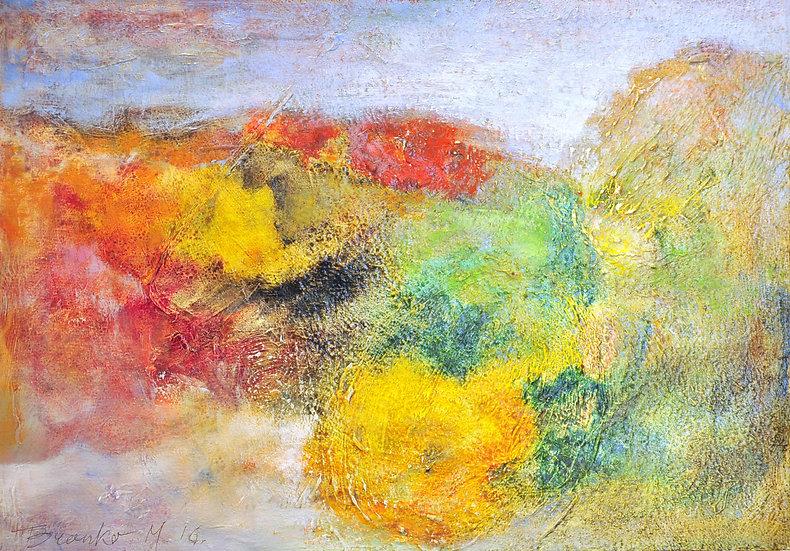 Branko - abstract landscape II