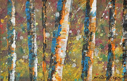 small Art - trees