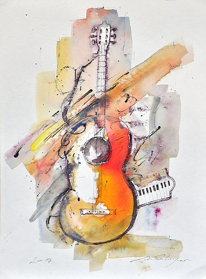 Music with guitar