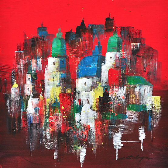 Salzburg b. red square