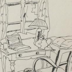Chambre d'écriture.2003_