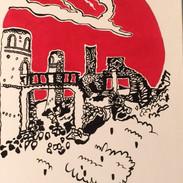 Les ruines du manoir de Saint-Pol-Roux à Camaret-sur-Mer