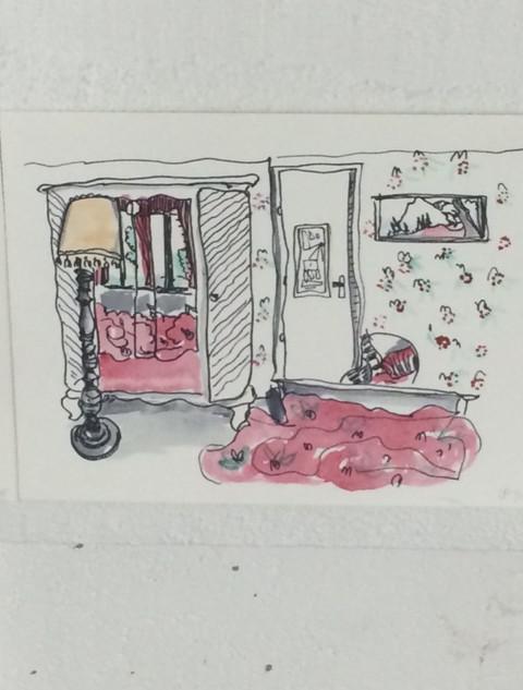 Chambre au ara. 2016_