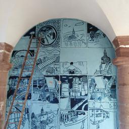 Lana. Fresque Arche 1.