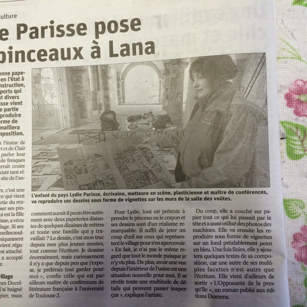 Article Vosges matin.