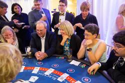 corporate event games casino night
