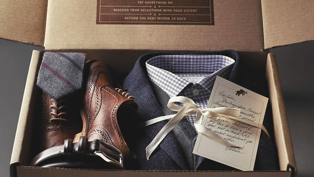 trunk club box mens clothing stylist