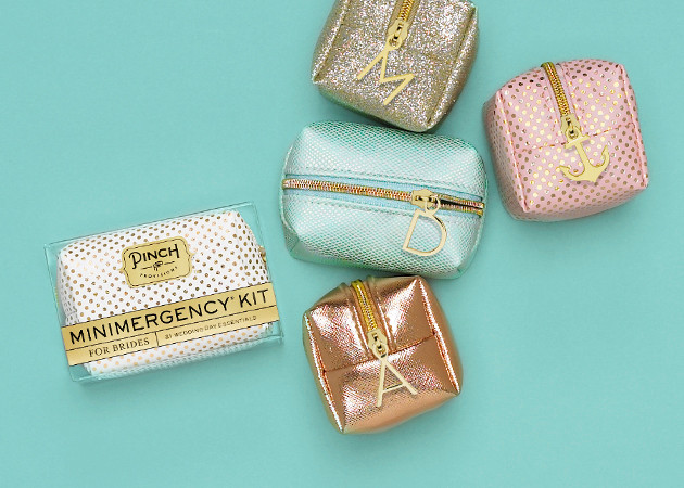 pinch provisions personalized minimergency bridesmaids kits