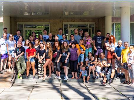 Ukraine English Camp Team at Spiritual Retreat in 2020