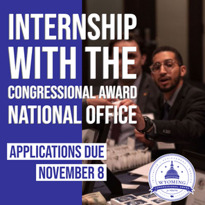 Internship with the Congressional Award National Office