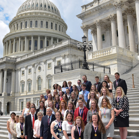 70 Wyoming students received Congress' most prestigious honor for youth