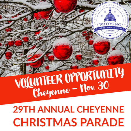 Cheyenne Christmas parade is looking for helpers