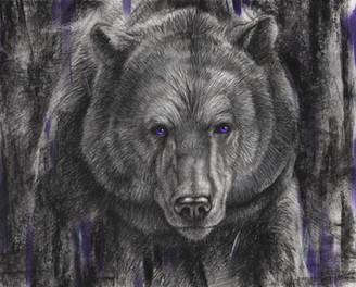 Amythyst Bear- £100