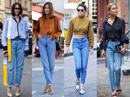 Como llevar correctamente el Mom Jeans o Jeans Mom fit