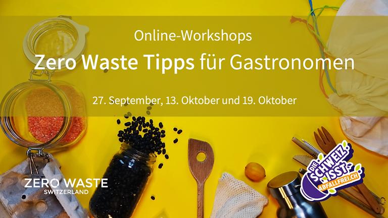 ZeroWaste Switzerland: Zero Waste Tipps für Gastronomen