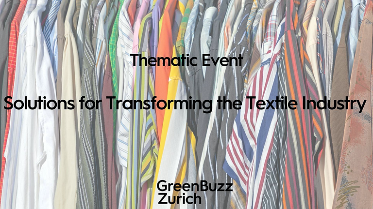 Greenbuzz: Solutions for Transforming the Textile Industry