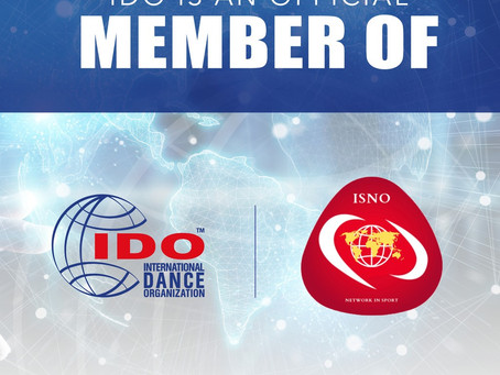 IDO - International Dance Organization become member of ISNO!