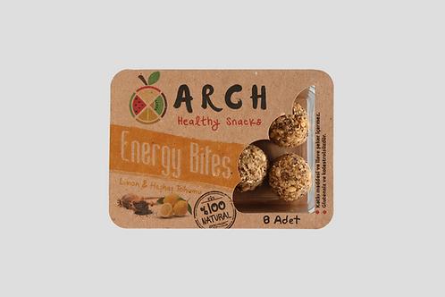 Limon & Haşhaş Tohumlu Energy Bites