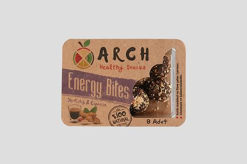 Yerfıstığı & Espressolu Energy Bites