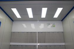 Iluminación cabina de pintura