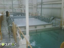 Tanques de lavado industrial