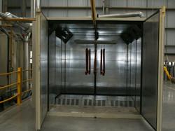 cabina lavado industrial