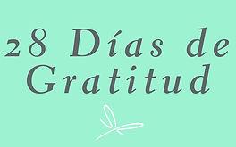 28 días de gratitud