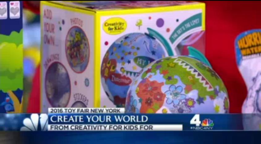 Faber-Castell Creativity for Kids, NY1 News