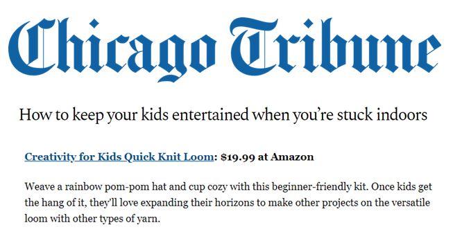 CFK, Chicago Tribune