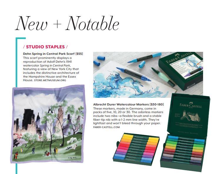 FCUSA Art & Graphic, Watercolor Artist Magazine