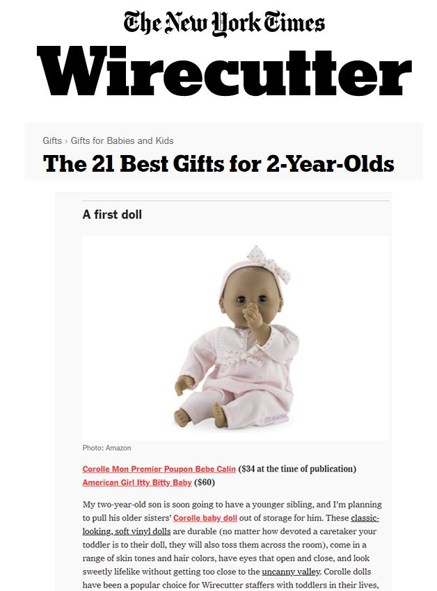 Corolle, The NY Times Wirecutter