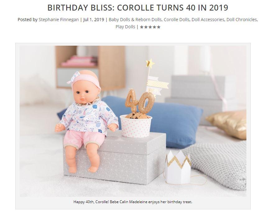 Corolle, Dolls Magazine