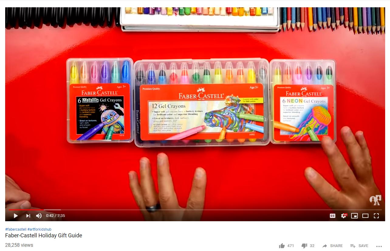 FCUSA, Art for Kids Hub YouTube