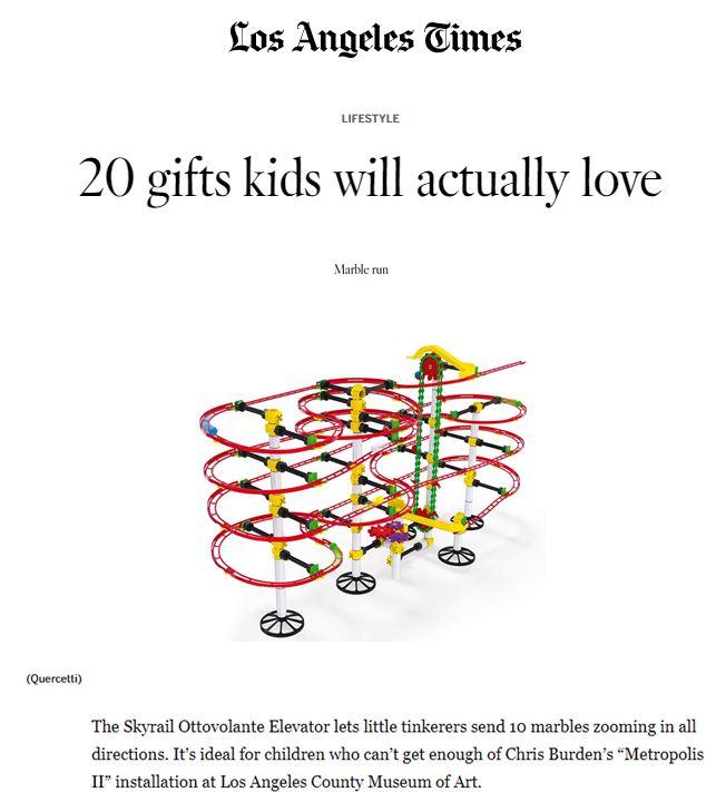 Quercetti, LA Times