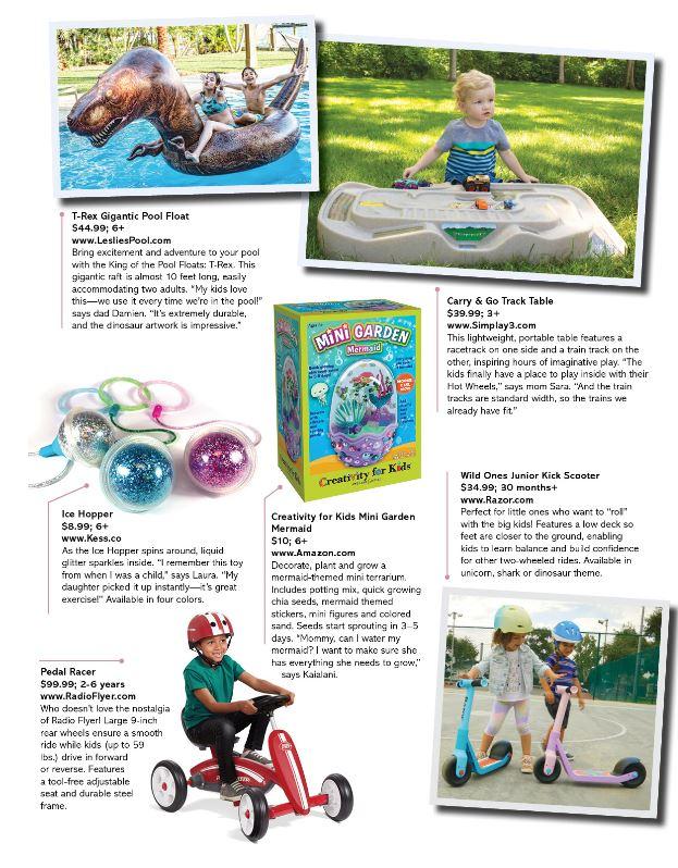 FCUSA CFK, San Diego Family Magazine