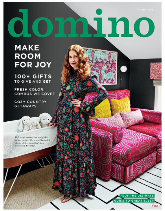 Domino Magazine, Steiff