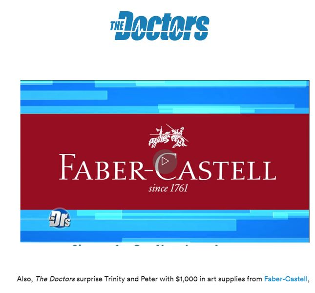 "FCUSA, CBS ""The Doctors"""
