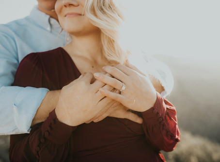 Golden Hour Engagement Session in Boulder, Colorado