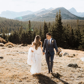 Fall Elopements in the Rocky Mountains