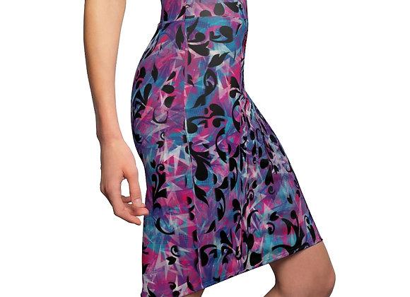 Women's Abstrakt Pencil Skirt