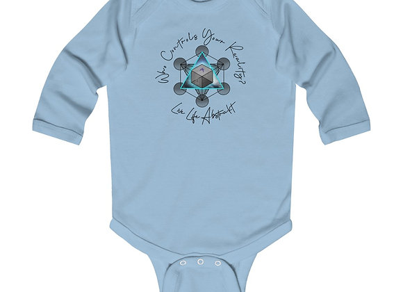 Infant Metatrons Cube Long Sleeve
