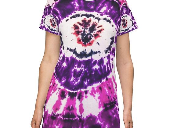 Tie Dye Eye T-Shirt Dress