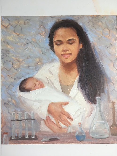 Private sale- Mother/child painting