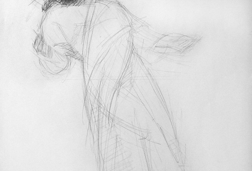 Sketch of Christ
